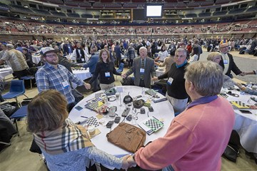 United Methodists gathered in St. Louis, Missouri, for General Conference 2019. Photo by Paul Jeffrey for United Methodist News Service.