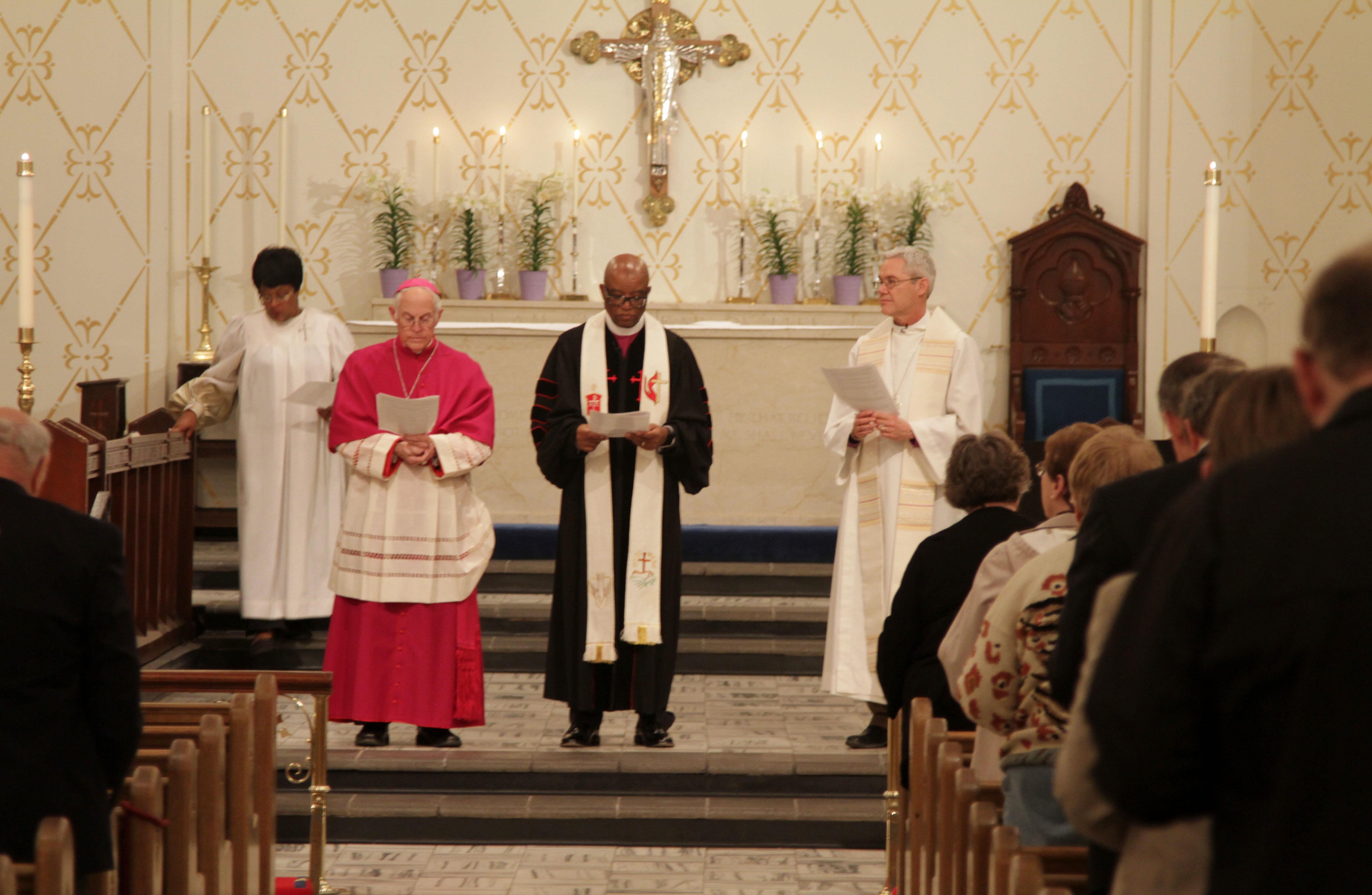 Interdenominational Cooperation Fund Apportion Fund Worship Service