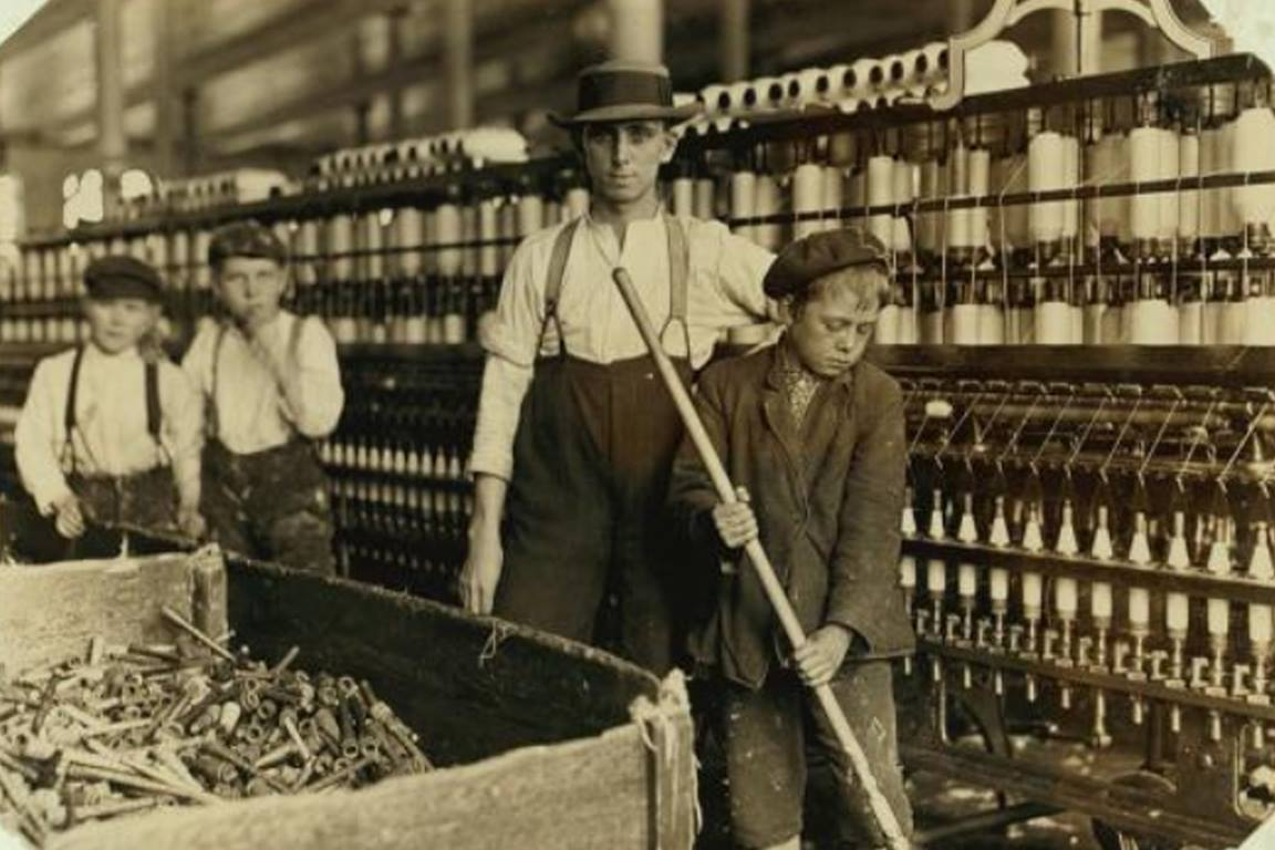 National Child Labor Committee collection by Lewis Wickes-Hine, courtesy of the U.S. Library of Congress