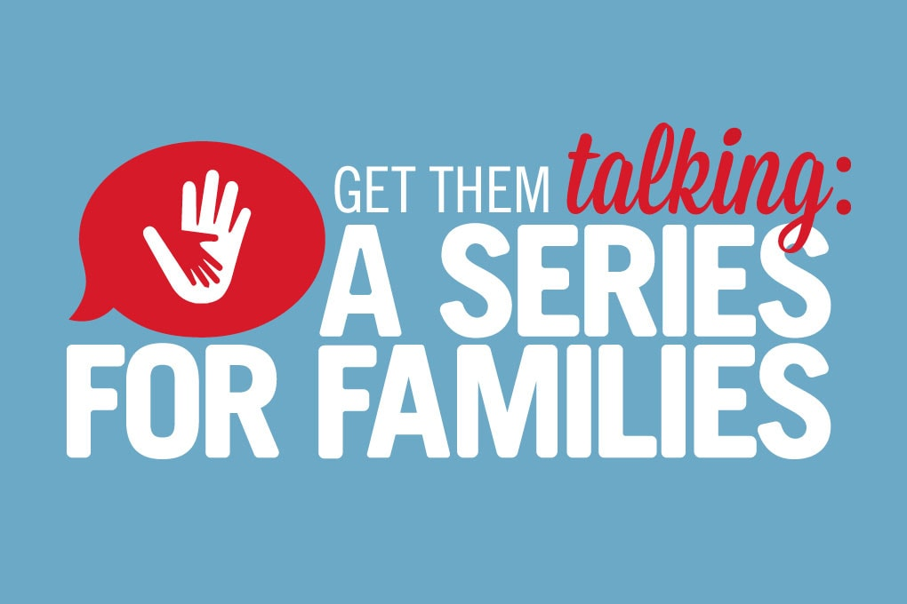 United Methodist series of discussion starters for families. Image by Sara Schork, United Methodist Communications.